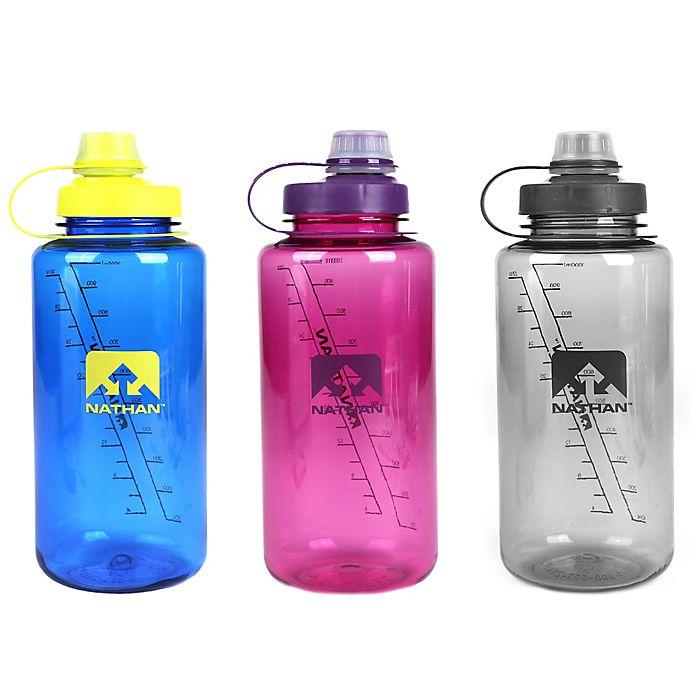 Alternate image 1 for Nathan™ BigShot 34 oz. Water Bottle