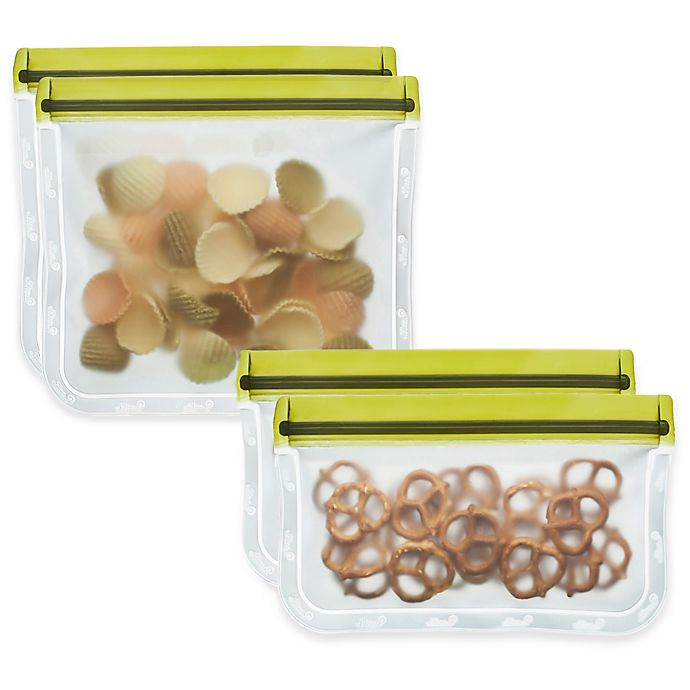 Alternate image 1 for BlueAvocado® (re)zip™ 2-Piece Reusable Bags