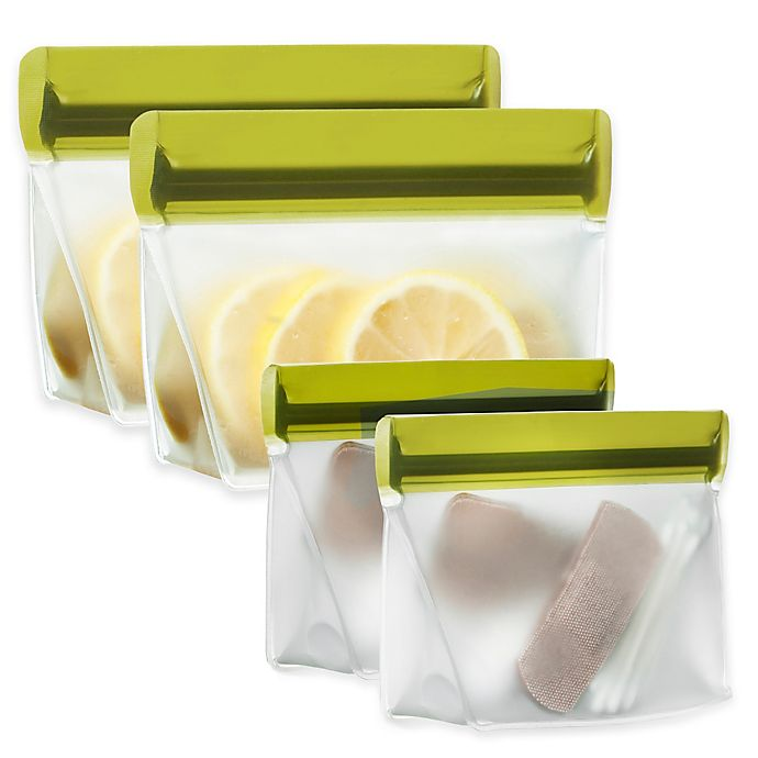 Alternate image 1 for BlueAvocado® (re)zip™ 2-Piece Reusable Snack Bags