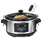 Hamilton Beach® Set & Forget® 6 qt. Programmable Slow Cooker