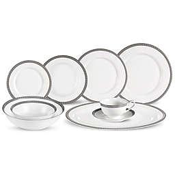 Lorren Home Trends La Luna Collection Evelyn 30-Piece Dinnerware Set