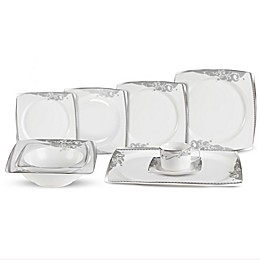 Lorren Home Trend Belle 30-Piece Dinnerware Set