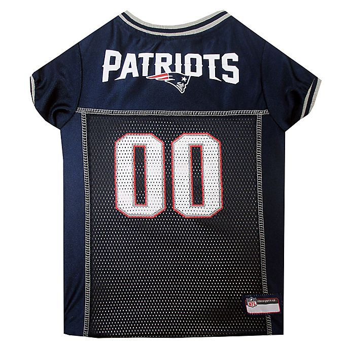 777b3580 NFL New England Patriots Pet Jersey | Bed Bath & Beyond