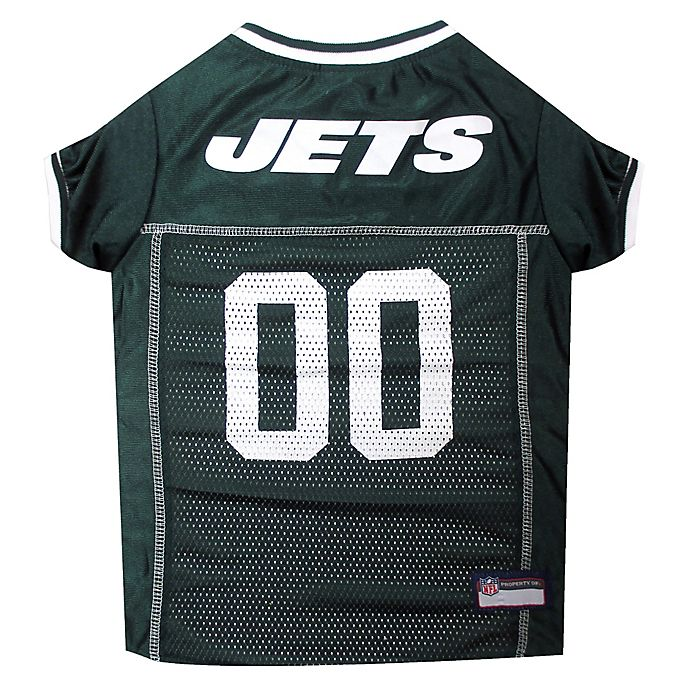 Alternate image 1 for NFL New York Jets Medium Pet Jersey