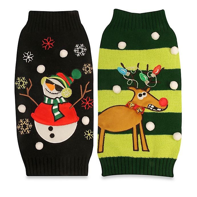 Alternate image 1 for Pawslife™ Ugly Holiday Pet Sweater