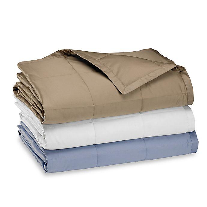 Alternate image 1 for Wamsutta® Dream Zone® Reversible Goose Down Blanket