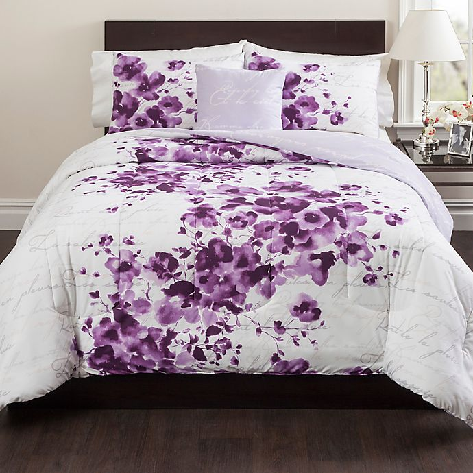 Cheshire Reversible Comforter Set In