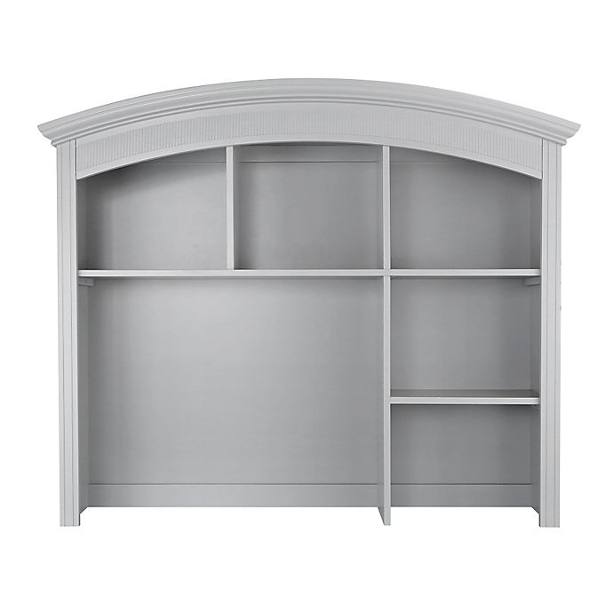 Alternate image 1 for Baby Appleseed® Chelmsford Hutch and Bookcase in Moon Grey