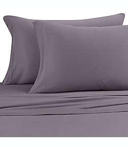 Set de sábanas individuales Pure Beech® de jersey modal en gris carbón