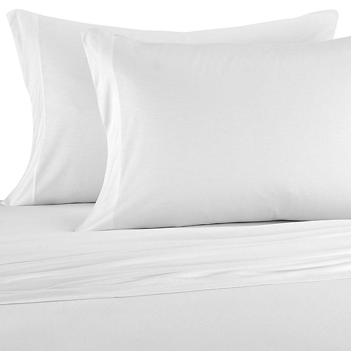 Alternate image 1 for Pure Beech® Jersey Knit Modal King Sheet Set in White