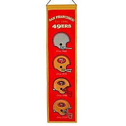 NFL San Francisco 49ers Heritage Banner
