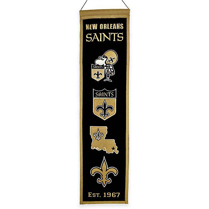 Alternate image 1 for NFL New Orleans Saints Heritage Banner