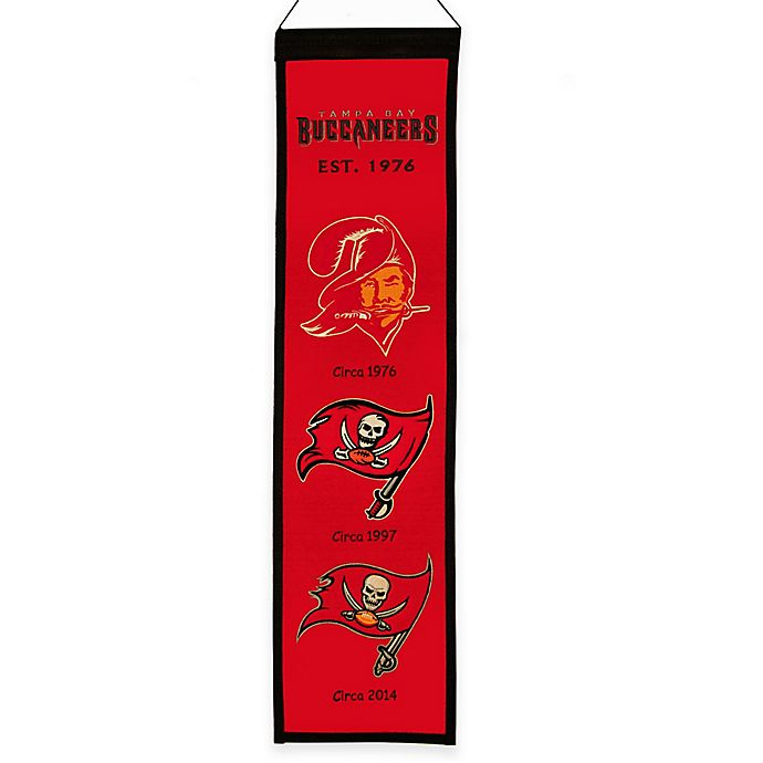 Alternate image 1 for NFL Tampa Bay Buccaneers Heritage Banner