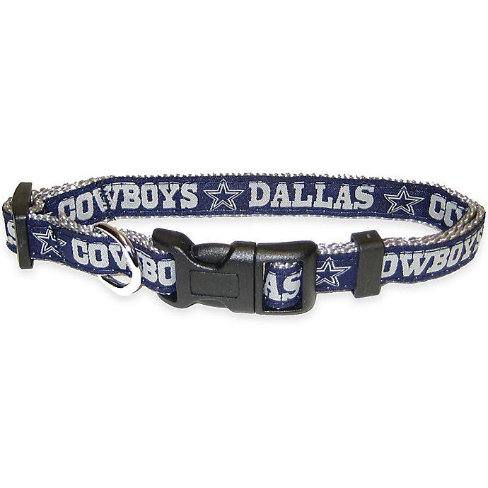 Alternate image 1 for NFL Dallas Cowboys Large Pet Collar