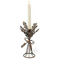 Boston International Small Aged Copper Candlestick