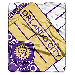 MLS Orlando City FC Super-Plush Raschel Throw Blanket