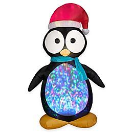 Gemmy® Kaliedoscopre Penguin Inflatable Outdoor Decoration