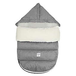 7 A.M.® Enfant LambPOD Footmuff Cover with Base in Heather Grey/Grey