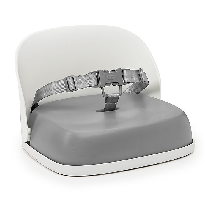 Alternate image 1 for OXO Tot® Perch Booster Seat with Straps in Grey