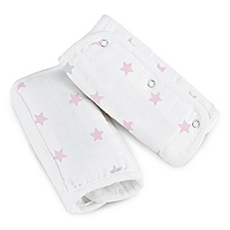 aden + anais™ essentials Muslin Strap Covers in Darling