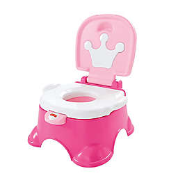 Fisher-Price® Pink Princess™ Royal Stepstool Potty in Pink