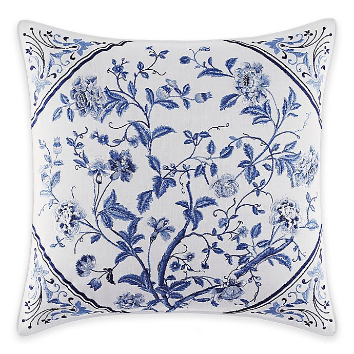 Alternate image 1 for Laura Ashley® Charlotte Square Throw Pillow