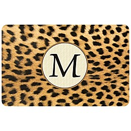 Weather Guard™ Leopard Kitchen Mat