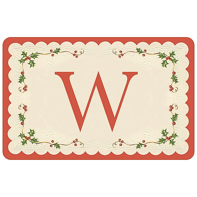 Alternate image 1 for Weather Guard™ 27-Inch x 18-Inch Classic Holiday Kitchen Mat