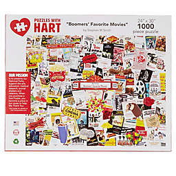 Hart Puzzles Collage of Summer Blockbusters 1000-Piece Jigsaw Puzzle