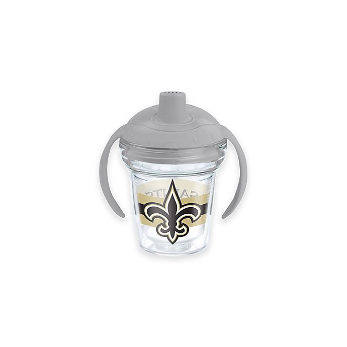 Alternate image 1 for Tervis® NFL New Orleans Saints 6 oz. Sippy Cup with Lid