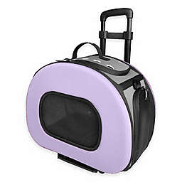 Tough-Shell Wheeled Collapsible Pet Carrier