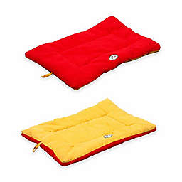 Pet Life® Reversible Large Pet Bed Mat in Orange/Red