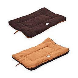 Pet Life® Reversible Large Pet Bed Mat in Brown