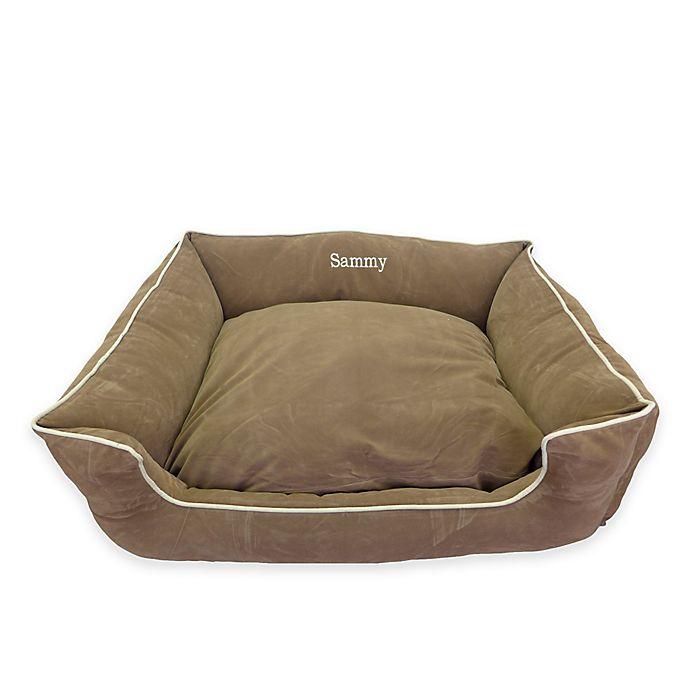 Alternate image 1 for Low-Profile Microfiber Kuddle Kup® Kuddle Lounge Pet Bed