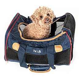 Airline Aero-Zoom Collapsible Pet Carrier in Dark Blue