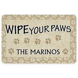 "Weather Guard™ ""18-Inch x 27-Inch Wipe Your Paws"" Pet Mat"