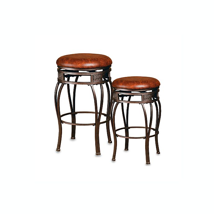 Awesome Hillsdale Montello Backless Bar Stool Bed Bath And Beyond Evergreenethics Interior Chair Design Evergreenethicsorg
