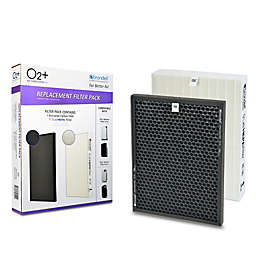 Brondell® 2-Pack HEPA and Carbon Filters for Brondell P300 and P400 Air Purifiers