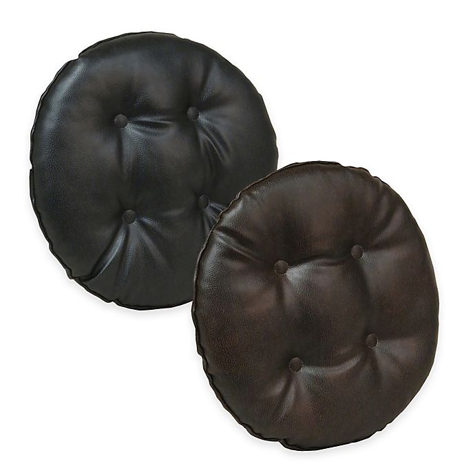 Alternate image 1 for Klear Vu Gripper® Faux Leather Barstool Cover