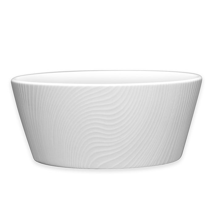 Alternate image 1 for Noritake® White on White Dune Fruit Bowl
