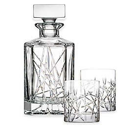 Top Shelf Graffiti 3-Piece Decanter Set