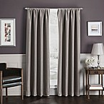 Sebastian 63-Inch Rod Pocket Insulated Total Blackout™ Window Curtain Panel in Mocha