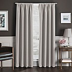 Sebastian 84-Inch Rod Pocket Insulated Total Blackout™ Window Curtain Panel in Natural