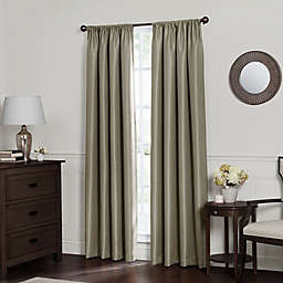 Emery Rod Pocket Insulated 100% Blackout Window Curtain Panel