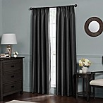 Emery 84-Inch Rod Pocket Insulated Total Blackout™ Window Curtain Panel in Black