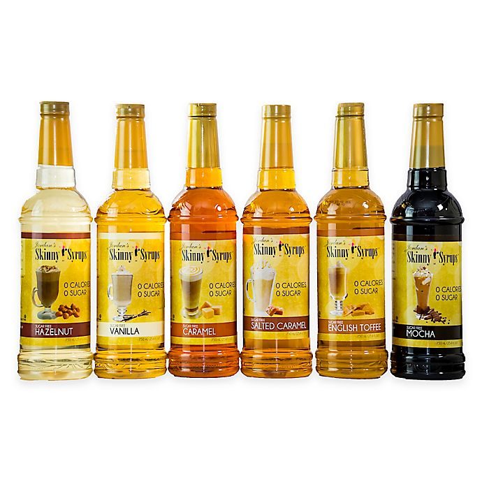 Skinny Syrups™ 6-Pack Classic Gourmet