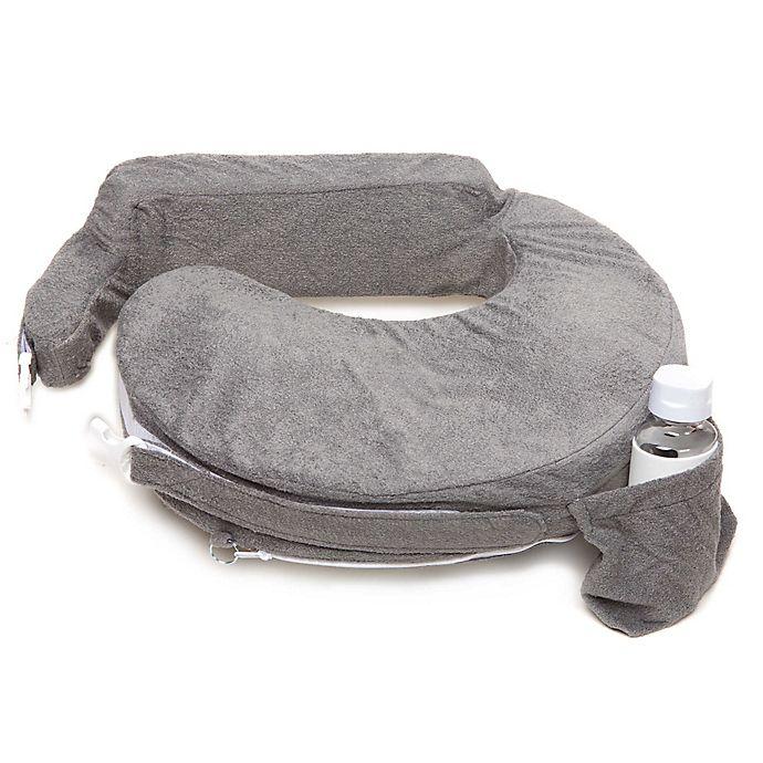 Alternate image 1 for My Brest Friend® Deluxe Nursing Pillow in Evening Grey
