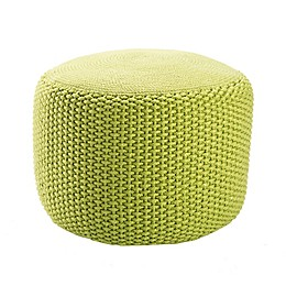 Jaipur Rustic Solid Pattern Pouf