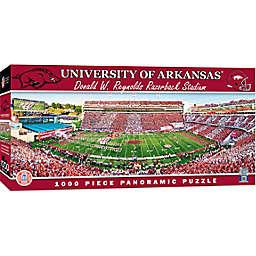 University of Arkansas 1000-Piece Stadium Panoramic Jigsaw Puzzle