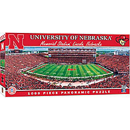 University of Nebraska 1000-Piece Stadium Panoramic Jigsaw Puzzle